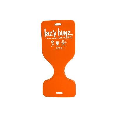 TRC Recreation Lazy Bunz 36 Inch Adult & Child Comfortable Foam Water Resistant Swimming Pool Lake Beach Floating Saddle Seat & Lounger, Sunset Orange