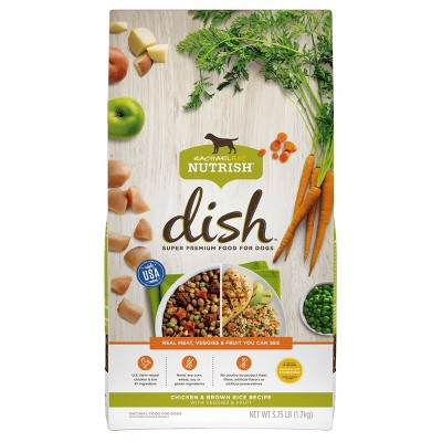 Rachael Ray Nutrish Dish Chicken & Brown Rice Recipe Super Premium Dry Dog Food