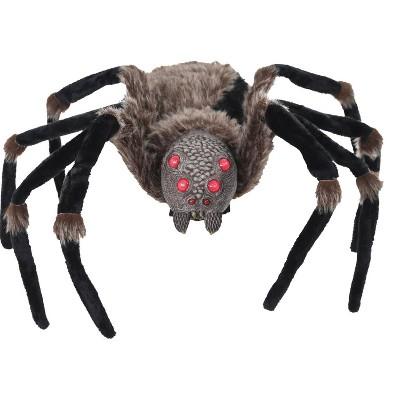 "53"" Spider Black Light-Up Halloween Decorative Holiday Scene Props"