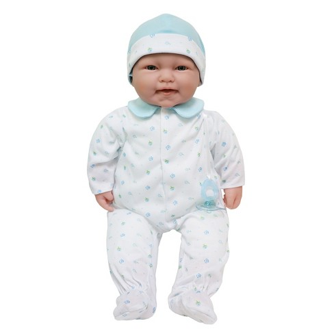 """JC Toys La Baby 20"""" Baby Doll - Blue Outfit with Pacifier - image 1 of 3"""