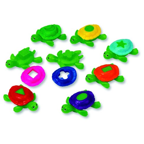 Learning Resources Shape Shell Turtles - image 1 of 3