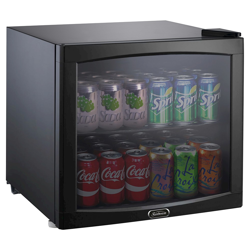 Sunbeam 1.7 Cu. Ft. Mini Refrigerator Beverage Center – Black JC-50NY 51460548