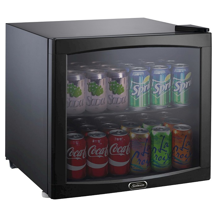 Sunbeam 1.7 Cu. Ft. Mini Refrigerator Beverage Center - Black JC-50NY - image 1 of 4