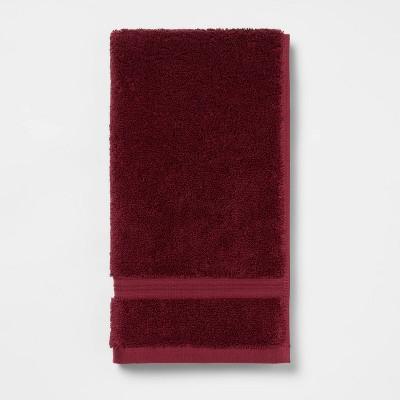 Antimicrobial Hand Towel Maroon - Total Fresh