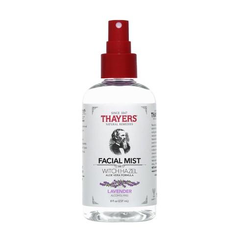 Thayers Witch Hazel Alcohol Free Toner Facial Mist Lavender 8