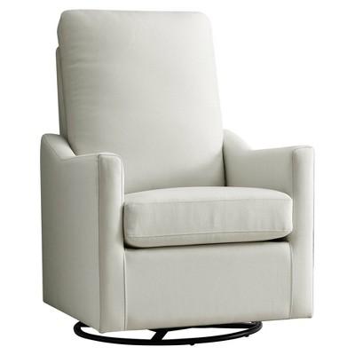 Delta Children Adley Nursery Glider Swivel Chair - Cream