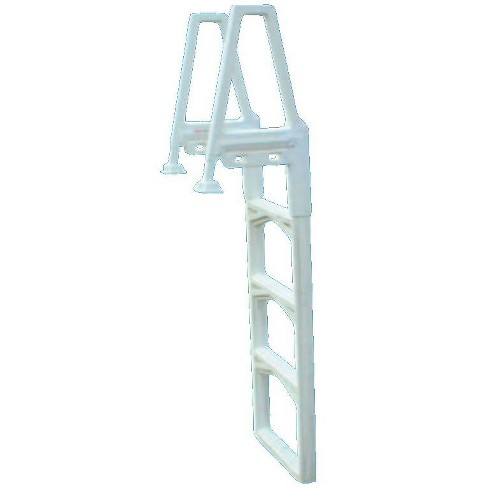 Confer 635-52 Adjustable In-Pool Above Ground Swimming Pool Ladder ...