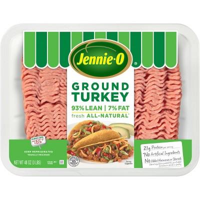 Jennie-O 93/7 Lean Ground Turkey Family Pack - 48oz