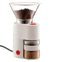 Deals on Bodum Bistro White Electric Coffee Grinder