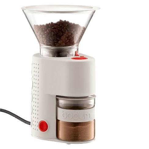 Bodum Bistro White Electric Coffee Grinder - image 1 of 4
