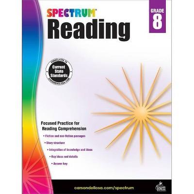 Spectrum Reading Workbook, Grade 8 - (Paperback)