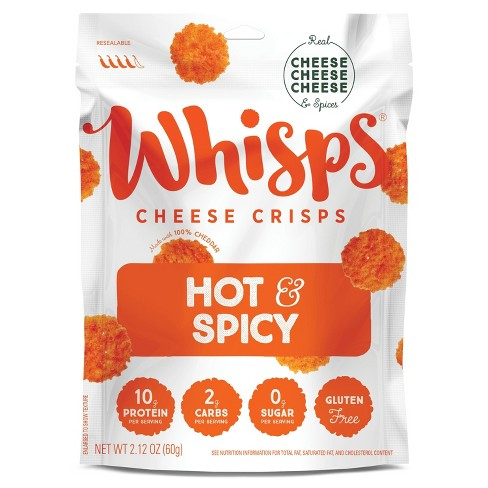 Whisps Hot & Spicy Cheese Crisps - 2.12oz - image 1 of 3