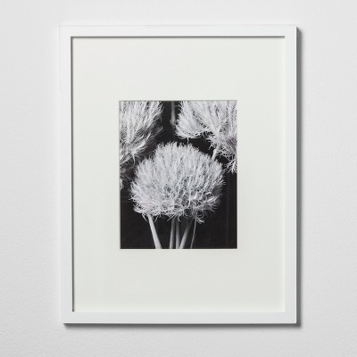 8 x10  Matted Wood Frame White - Made By Design™