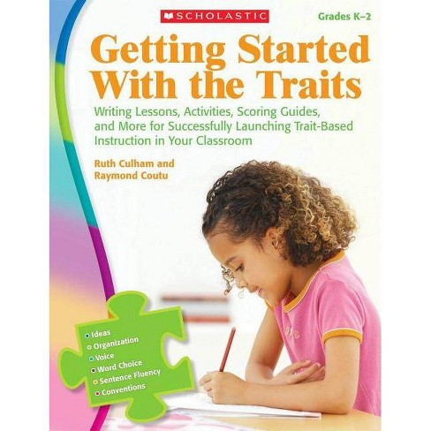 Getting Started with the Traits: K-2 - by  Ruth Culham & Raymond Coutu (Paperback) - image 1 of 1