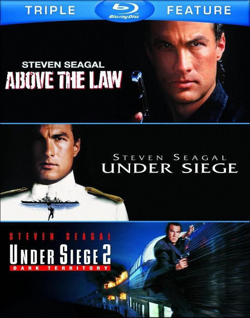 Above the law/Under siege/Under 2 (Blu-ray) - image 1 of 1