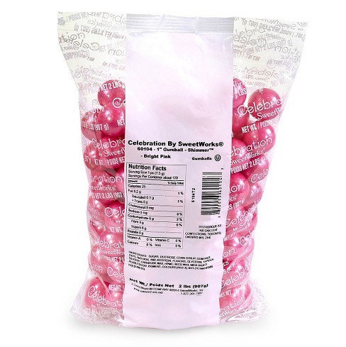 "SweetWorks 1"" Bubble Chewing Gum - 2lbs - image 1 of 2"