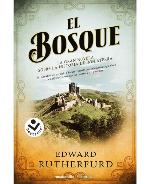 El bosque / The Forest (Paperback) (Edward Rutherfurd) - image 1 of 1