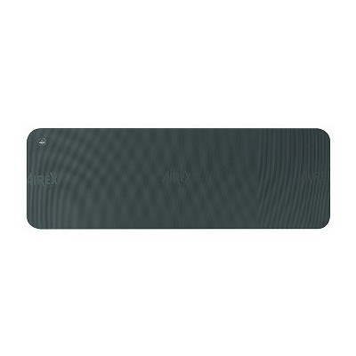 Airex 32-1247C Fitline 180 Workout Exercise Fitness Non Slip 0.4 Inch Thick Foam Floor Mat Pad for Yoga or Pilates at Home or Gym, Charcoal