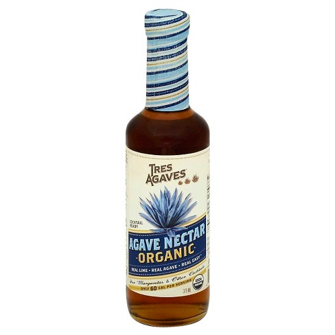 Tres Agaves Organic Cocktail-Ready Agave Nectar - 375ml Bottle - image 1 of 3