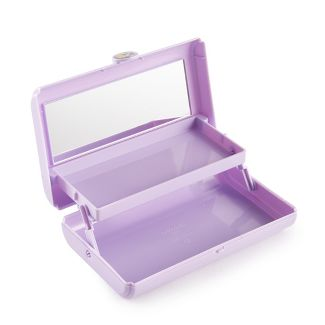 Retro Caboodles Take it Touch up Tote- Lilac