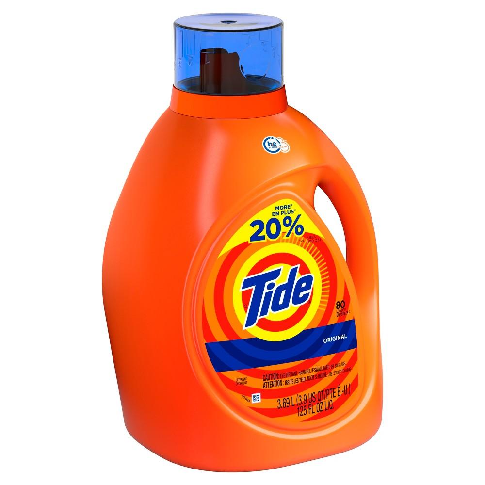 Tide Original High Efficiency Liquid Laundry Detergent - 125 fl oz