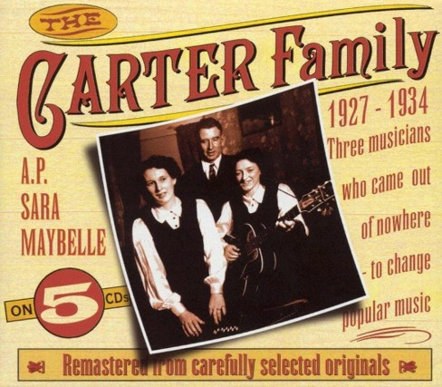 Carter family - Carter family 1927-1934 (CD) - image 1 of 2