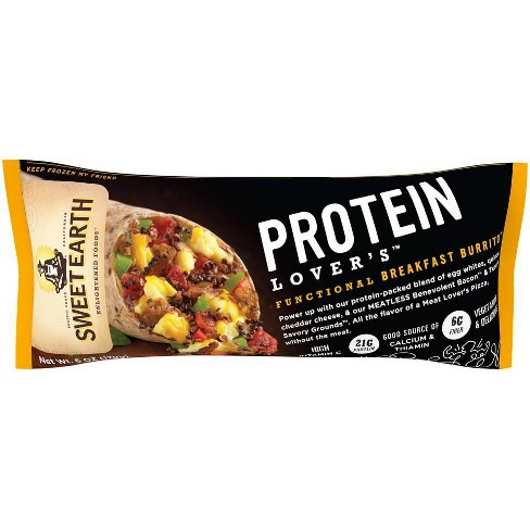Sweet Earth Protein Lovers Frozen Burrito - 6oz - image 1 of 3