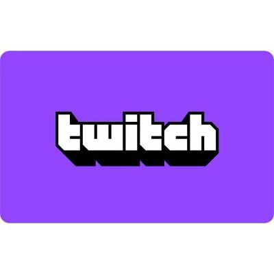 Twitch eGift Card (Digital)