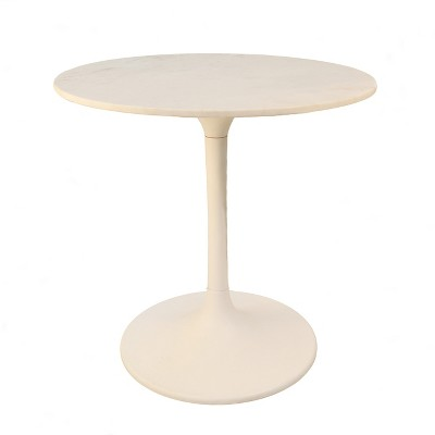 "30"" Zaha Round Marble Top Dining Table - Carolina Chair & Table"