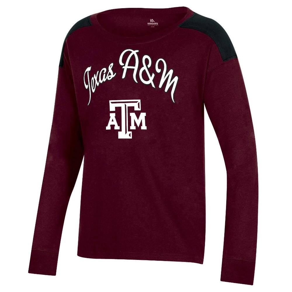 Ncaa Texas A 38 M Aggies Girls 39 Long Sleeve T Shirt Xs