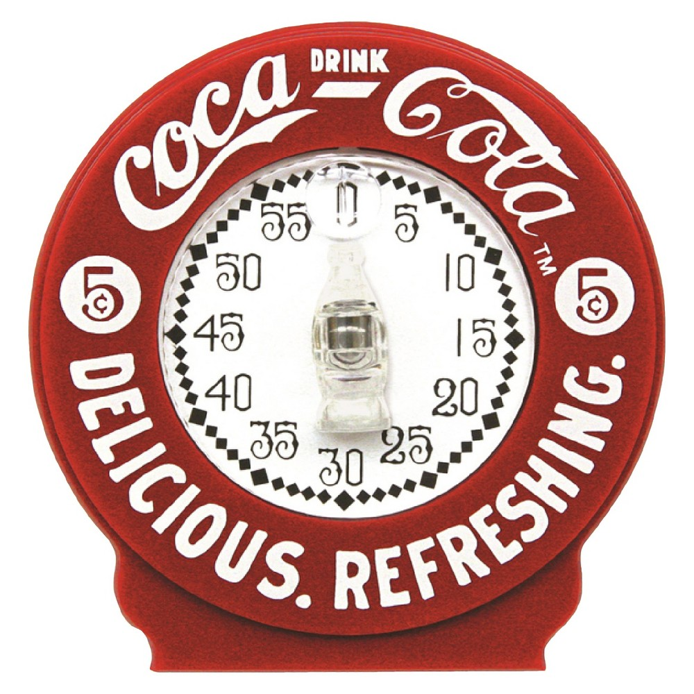 Image of Coca-Cola Kitchen Timer, Red