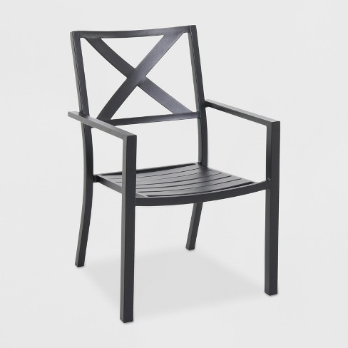 Afton X-back Patio Dining Chair - Threshold™ - image 1 of 4