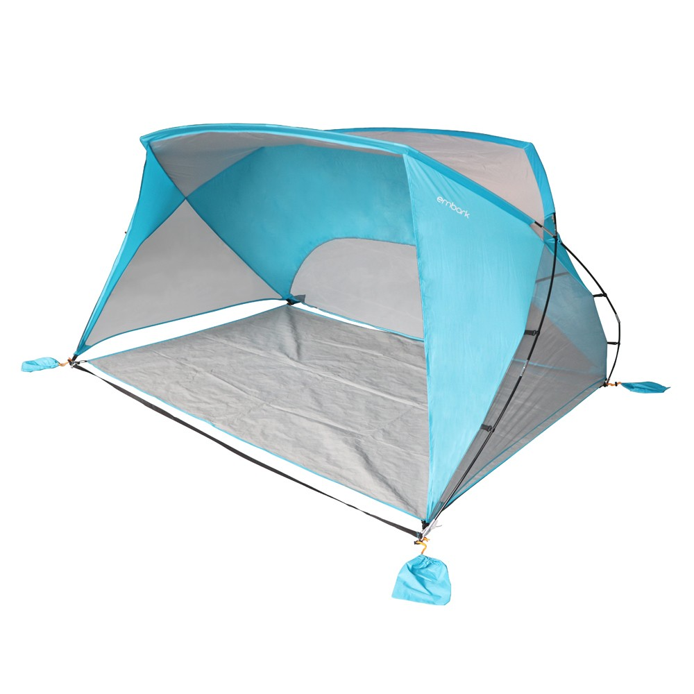 Image of 9x6 Sun Shelter Turquoise Blue - Embark
