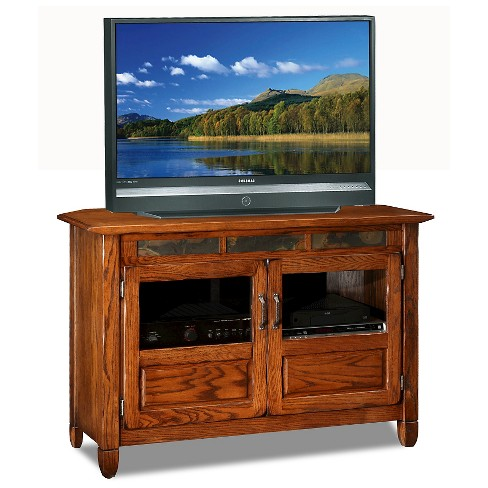 """46"""" TV Stand Oak - Leick Home - image 1 of 1"""