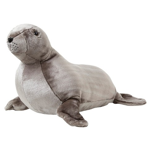 Melissa & Doug® Giant Sea Lion - Lifelike Stuffed Animal (over 2 feet long) - image 1 of 2