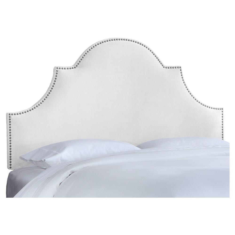 Chambers Headboard - Premier White (Full) - Skyline Furniture