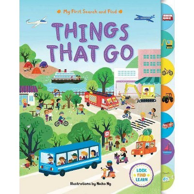 My First Search and Find: Things That Go - (Board Book)