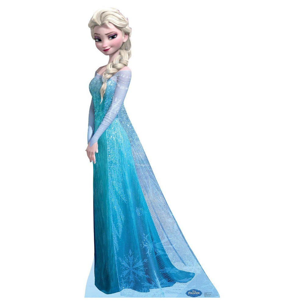 Image of Frozen Snow Queen Elsa Standup, Girl's, Blue