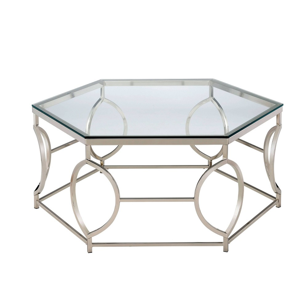 Elise Coffee Table Chrome Homes Inside Out