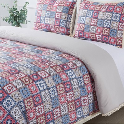 Granny Square Comforter Set - Country Living