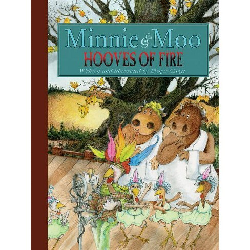 Minnie and Moo: Hooves of Fire - (Paperback) - image 1 of 1