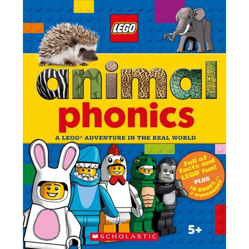 animals phonics set a lego adventure in the real target