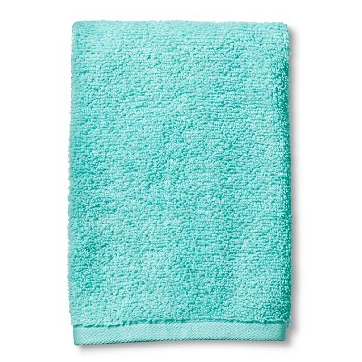 Fast Dry Hand Towel Sun-bleached Turquoise - Room Essentials™