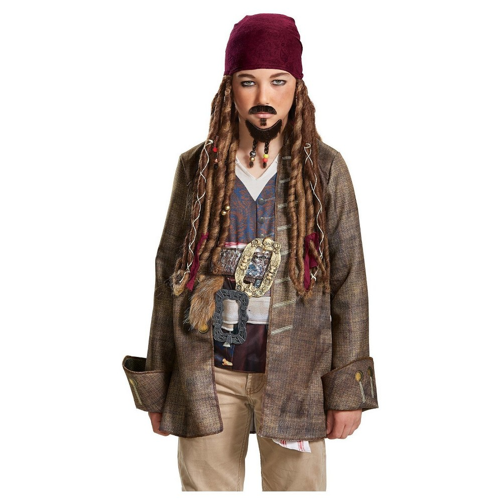 Image of Captain Jack Sparrow Goatee & Mustache