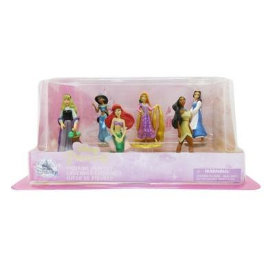 Disney Princess Mini Figures- 6pc - Disney store