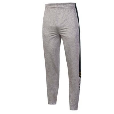 NCAA Iowa Hawkeyes Men's Gray Athletic Jogger Pants