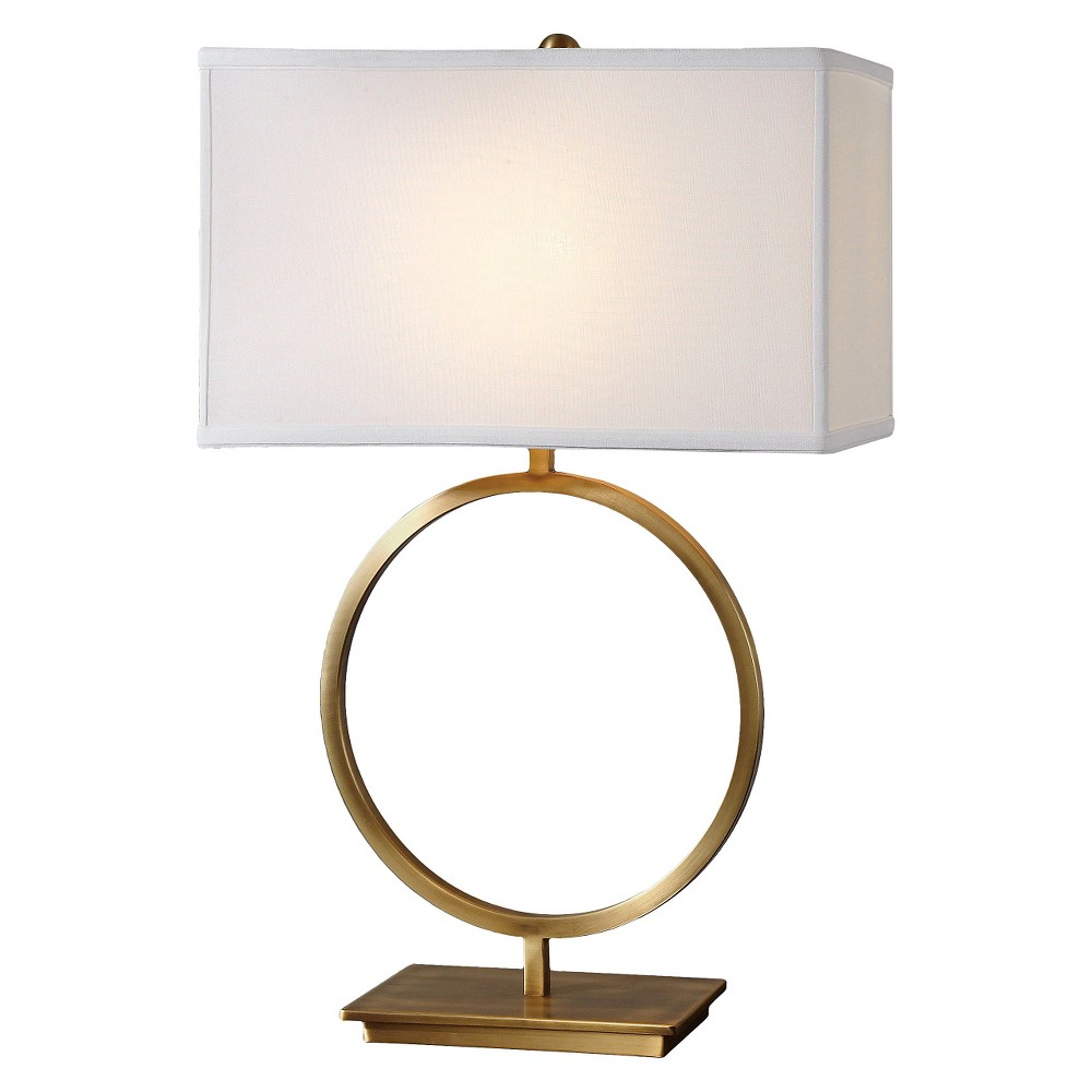 Uttermost Duara Circle Table Lamp (Lamp Only) - Brass