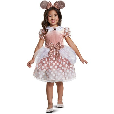 Mickey Mouse Clubhouse Rose Gold Minnie Classic Toddler Costume