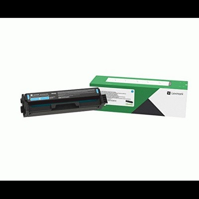 Lexmark Unison Toner Cartridge - Cyan - Laser - Standard Yield - 1500 Pages