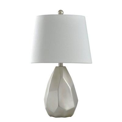 Misty Table Lamp Silver - StyleCraft
